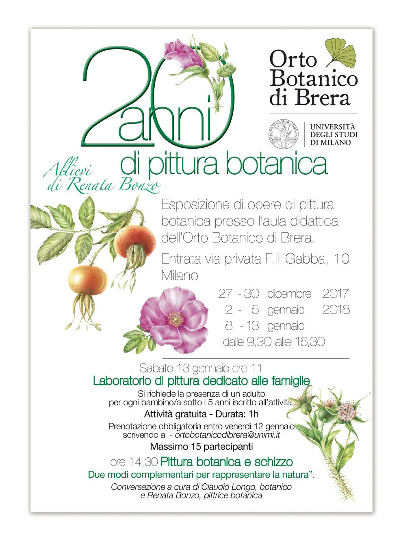 Orto Botanico di Brera 20 anni di pittura botanica
