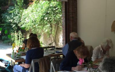 Dipingere i fiori dell'Orto maggio 2016