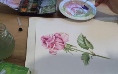 Dipinto di un'alieva 2016